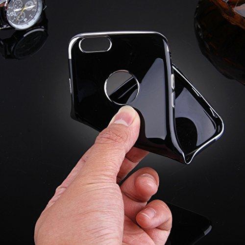 IPhone 6 Plus & 6s Plus Fall Spiegel TPU Schutzhülle für iPhone 6 Plus & 6s Plus by diebelleu ( Color : Silver ) Silver