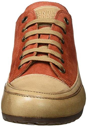 Candice Cooper Camoscio, Sneaker Basse Donna Orange (RUGGINE)