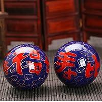 QTZS Chinesische Traditionelle Fitness-Ball Dekompression Handball Blau Langlebigkeit 50mm450g preisvergleich bei billige-tabletten.eu