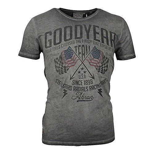 goodyear-herren-t-shirt-fernald-vintage-grau-grossel