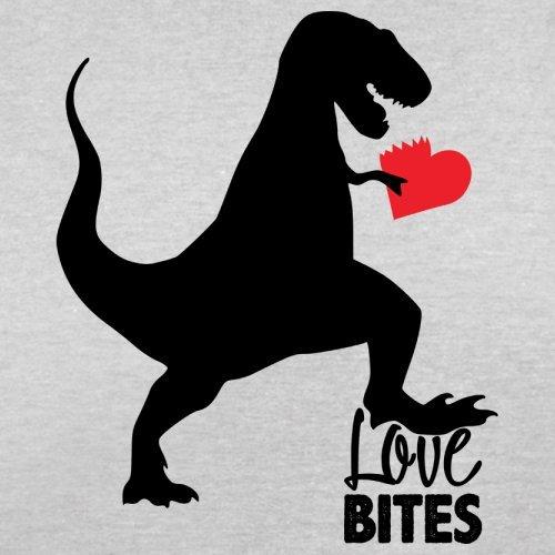 Love Bites - Herren T-Shirt - 13 Farben Hellgrau