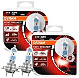 4x OSRAM Halogenlampen H7 NIGHT BREAKER UNLIMITED 12V 55W 64210NBU-HCB