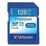 Verbatim 44025 128GB Class 10 SDXC Speicherkarte