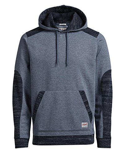 JACK & JONES Herren Kapuzenpullover SAXO SWEAT HOOD ORG Faded Denim