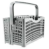 Plemont Besteckkorb für die Spülmaschine Universal - Spülmaschinenkorb mit innovativer 2 in 1 Lösung - Spülkorb für Geschirrspüler & Spülmaschine
