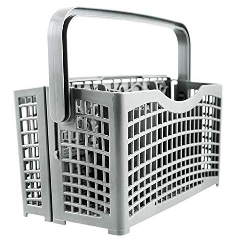 Plemont Besteckkorb für die Spülmaschine Universal - Spülmaschinenkorb mit innovativer 2 in 1...