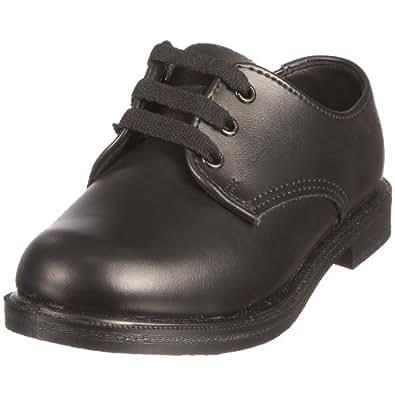 Toughees Junior Hank Black School Shoe 21110260 12 Child Uk