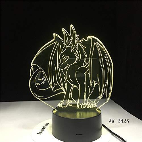 Pokemon Spiel Eevee Familie Serie 3D Lampe USB Cartoon Nachtlicht LED 7 Farbe Tischlampe Kinder Beliebte Neue Geschenke AW-2825 -