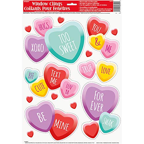 Candy Hearts Valentine Fenster selbst Tabelle ()