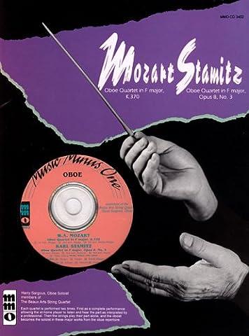 Mozart Oboe Quartet F Major, KV370 & Stamitz Oboe Quartet F Major, Op. 8, No. 3 (Music Minus One (Numbered))