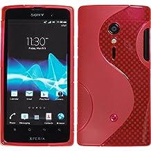 Design No.1 Cover Hülle Case für Sony Xperia Ion Handy Tasche Flip Style