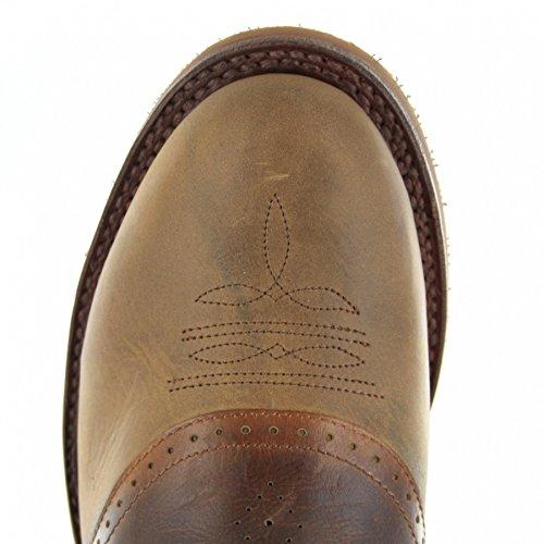 Sendra Boots5357 - Stivali western Unisex – adulto Marrone (Tang Teak)