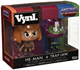 Figuras Vynl Masters of The Universe He-Man y Trapjaw