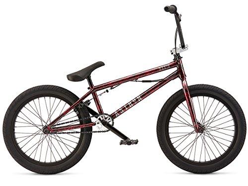 "'""Astron 2017Vélo BMX–Black/Radio Bikes Red Splatter   Noir/Rouge   20,6"""