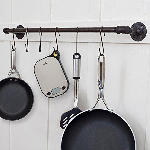 SIMBR Waage Küchenwaage mit Aufhänger und Tara-Funktion hohe Präzision von 2g bis 5kg inkl. Batterie - 6