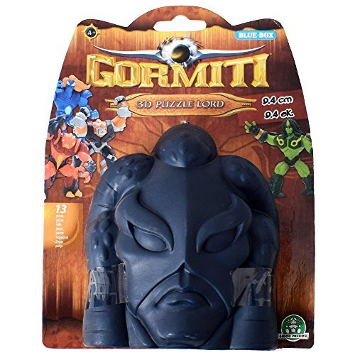 Gormiti 3D Puzzle Lord 13-teilige Snap-Together Figure Toy 9 cm Cartoon 2 Blue