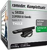Rameder komplett-Set Dachträger WingBar für Skoda Superb Combi (118354â 14382â–Â 35)