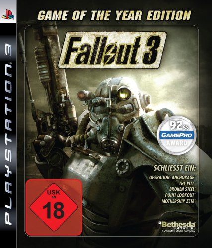 Fallout 3 - Game of the Year Edition - [PlayStation 3] - Essentials (Fallout Ps3)