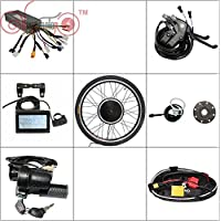 e bike conversion kits 36V 48V 500W Wheel Electric Bicycle Ebike Conversion Kits New Style with LCD Display