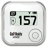 GolfBuddy Golf GPS Gerät Buddy Voice, weiß, GB7-V-G-B by GolfBuddy