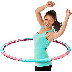 meteor® Premium Magnete Massagenoppen Hula Hoop Reifen, 1,6 kg