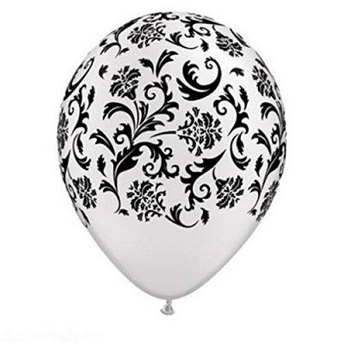 AA 32 Ballon Baroque Blanc Décoration Mariage (Lot de 5)
