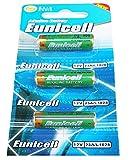 3 x 23A 12V ( 1 Blistercards a 3 Batterien ) Quecksilberfreie Alkaline Batterien MN21, 23A, V23GA, L1028, A23 Markenware Eunicell