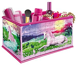 Ravensburger 12101 My 3D Boutique  Unicorns Vanity Box 3D Jigsaw Puzzle - 216 Pieces