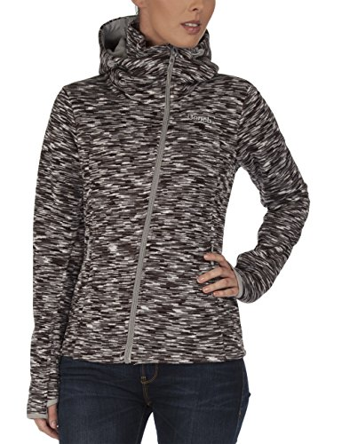 Bench Damen Pullover Strickjacke Variety grau (Neutral Grey) Large