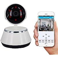 YISER V380 1080P wifi cámara de red inalámbrica para bebés cámara de vigilancia móvil, cámara IP de seguridad para el hogar visión nocturna por infrarrojos 32 pies grabación de alarma