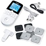 Beurer EM 49 Digital TENS/EMS Reizstromgerät, zur elektrischen Nerven- und Muskelstimulation, Massage, Schmerzlinderung, 132 x 63 x 23 mm, weiß