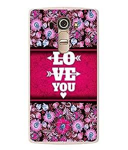 Fuson Designer Back Case Cover for LG G4 :: LG G4 Dual LTE :: LG G4 H818P H818N :: LG G4 H815 H815TR H815T H815P H812 H810 H811 LS991 VS986 US991 (Love Kaadal Ishq Love You Infactuation)