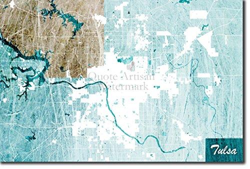 Tulsa, Oklahoma, USAUrsprüngliches Karten-Design