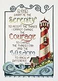 #8: Janlynn Cross Stitch Kit, Serenity Lighthouse