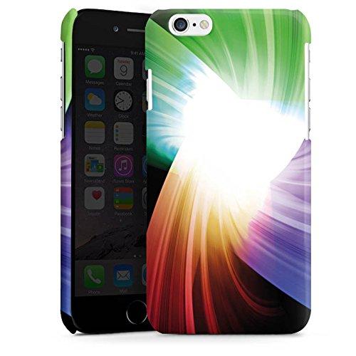 Apple iPhone 4 Housse Étui Silicone Coque Protection Prisme Couleurs Lumière Cas Premium brillant