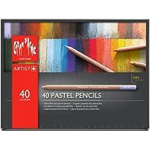 Caran D'Ache Lápices de colores pastel 40 *