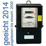 Wechselstromzähler 10(30)A geeicht für Verrechnungszwecke zugelassen (max. 6,9kW)