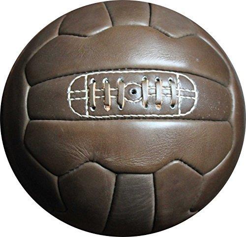 Vintage 1966Fußball-Dunkelbraun