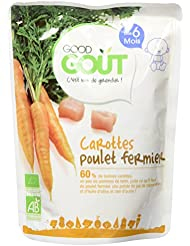 Good Goût Bio Carottes Poulet dès 6 Mois 190 g