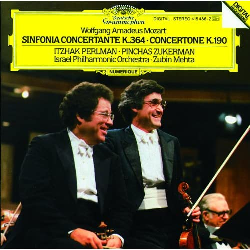 Mozart: Sinfonia Concertante For Violin, Viola And Orchestra In E Flat, K.364 - 1. Allegro maestoso