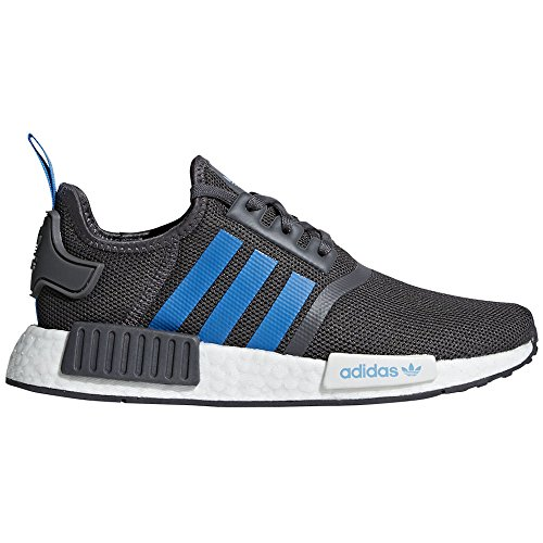 adidas Originals Kids NMD_R1J (5.5M US Big Kid, Grey/Blue)