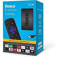 روكو اكسبرس جهاز البث والوسائط المتعددة - سهل الإعداد - مع كابل HDMI عالي السرعة  موديل 2019