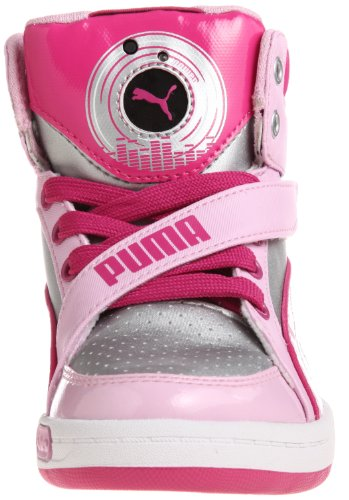 Puma Jr Puma Dj 65, Baskets mode mixte enfant silver