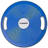 ScSPORTS Balance-Board mit Griffen, Therapiekreisel für Physiosport, der Wackelbrett Balance-Trainer, Ø 40 cm
