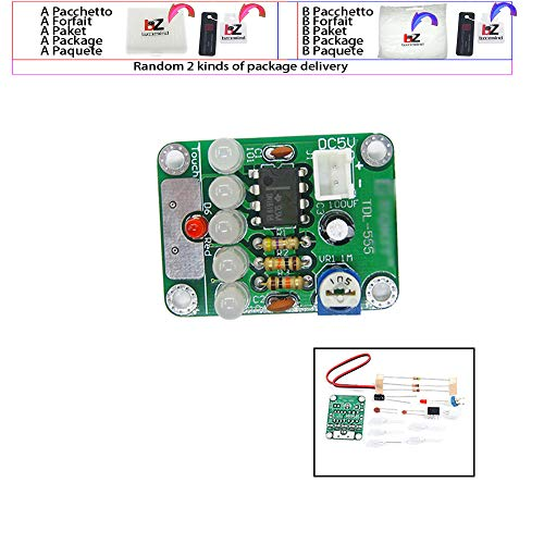 TDL-555 Berührungsverzögerungs-LED-Licht DIY-Kit Berührungsverzögerungslampe Produktionskit für elektronische Teile DC 5 V einstellbar 3 s bis 130 s einstellbar - Tdl-modul