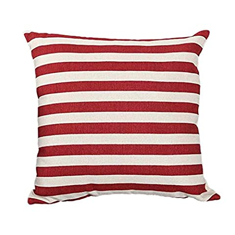 Pillow Cover,Laimeng Stripe Print Sofa Bed Home Decoration Festival Pillow