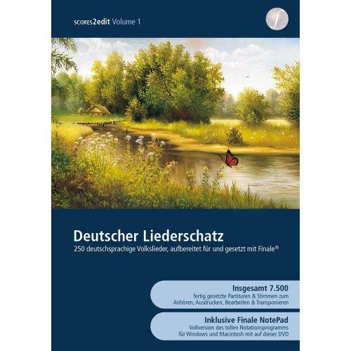 Deutscher Liederschatz 2012 Vol. 1 inkl. Finale NotePad 2012 [DVD-ROM]
