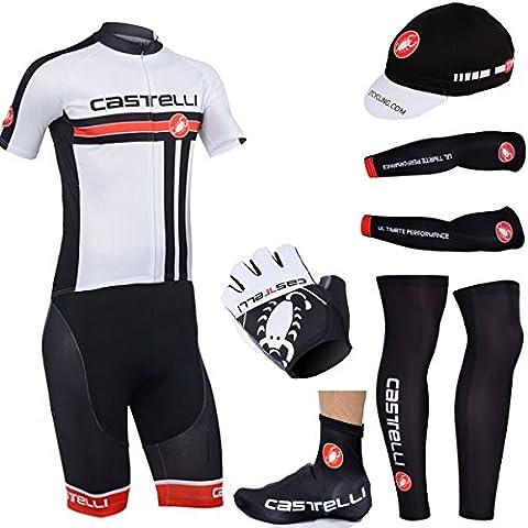 CASTELLI estilo bikewear ciclismo de deportes de conjunto completo (4XL)
