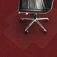 Tappeto salvapavimento con labbro Office Marshal® per moquette | PVC | Trasparente | diverse misure, 114x135cm