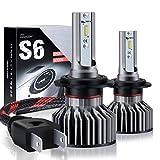 Lampadine H7 LED 7800LM, Fari Abbaglianti o Anabbaglianti per Auto, Kit Sostituzione per Alogena Lampade e Xenon Luci,Lampada 6000K Bianco,3 ANNI DI GARANZIA